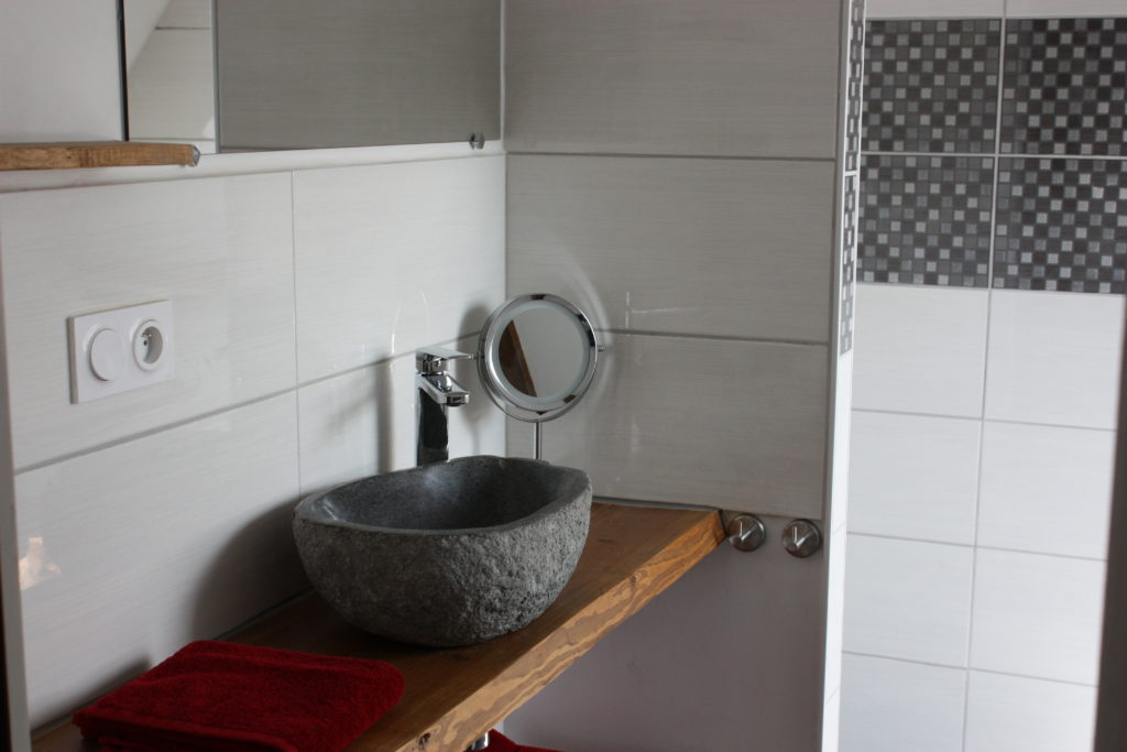 Salle de bain – Chambre «Templier»